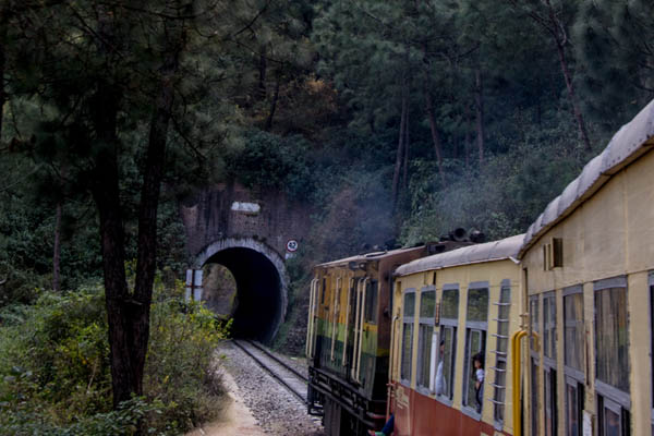 Beautiful scenery from Shimla to Kalka